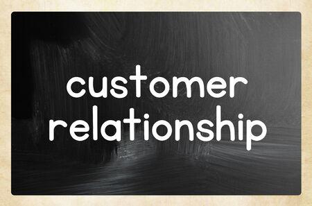 customer relationship concept Фото со стока