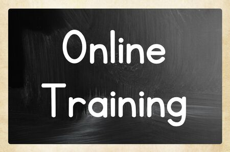 online training Banco de Imagens - 131827585