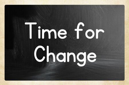 time for change concept Reklamní fotografie