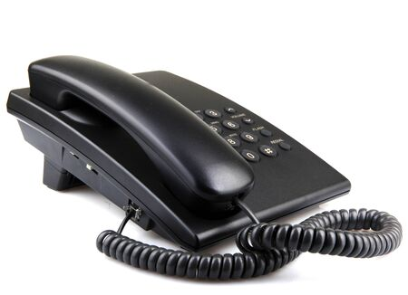A telephone or phone, is a telecommunications device that permits two or more users to conduct a conversation when they are too far apart to be heard directly.