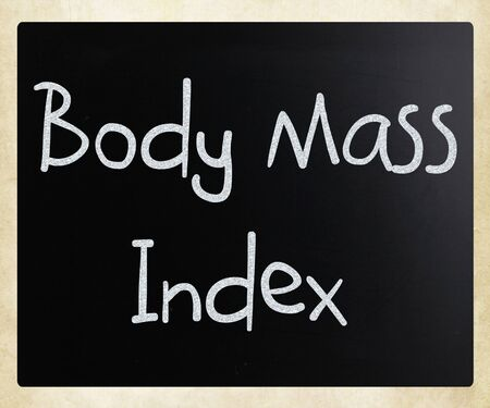 Body Mass Index on blackboard