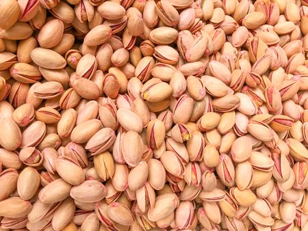 Pistachios For Sale. Healthy Fresh Food Background. Imagens