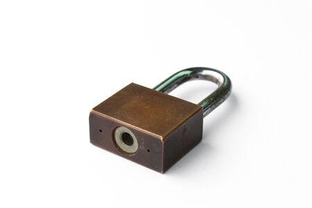 master: Master key on white background. Stock Photo