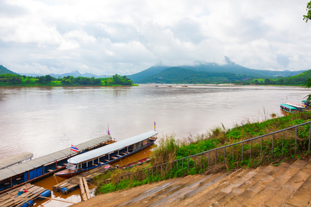Mekong river view in chaiyaphum ,thailand