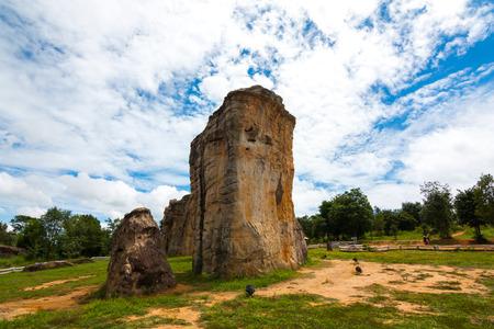 The Landscape , The stonehenge mohinkhao in chaiyaphum , Thailand Imagens - 124678229