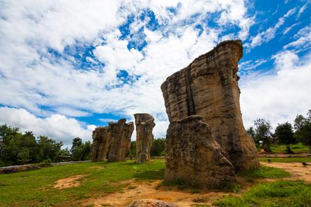 The Landscape , The stonehenge mohinkhao in chaiyaphum , Thailand Imagens - 124678230