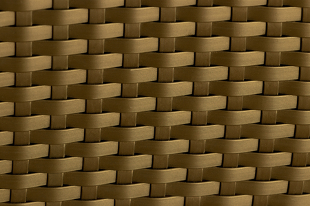 Abstract texture background of the bamboo wall color gold, Bamboo weave.