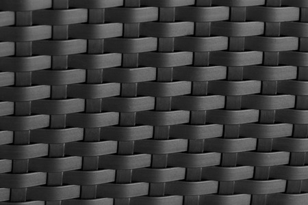 Abstract texture background of the bamboo wall color black, Bamboo weave.
