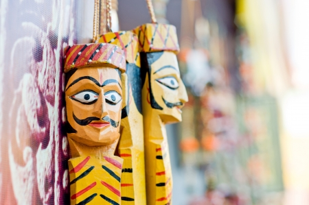 Beautiful Wooden crafts for sale in India photo