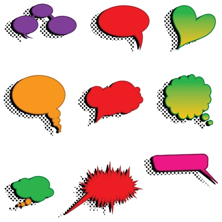 Speech bubbles vector speech bubble speech bubble icon speech bubble 3d speech bubbles set Vector