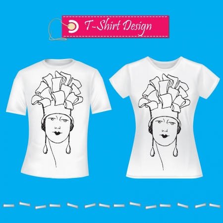 t shirt model: T-Shirt Design