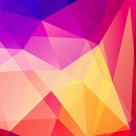 Abstract Polygon background 3d colorful vector illustration