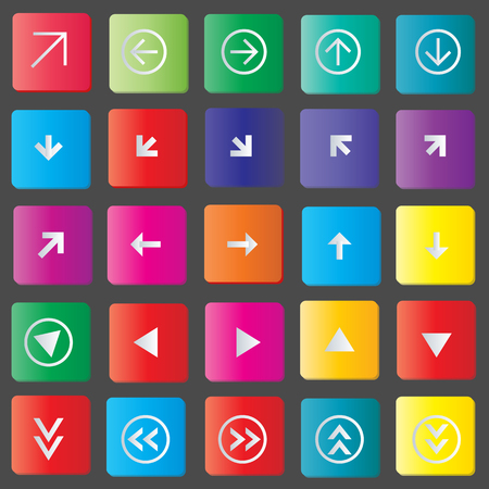 Icons set vector illustration Vector