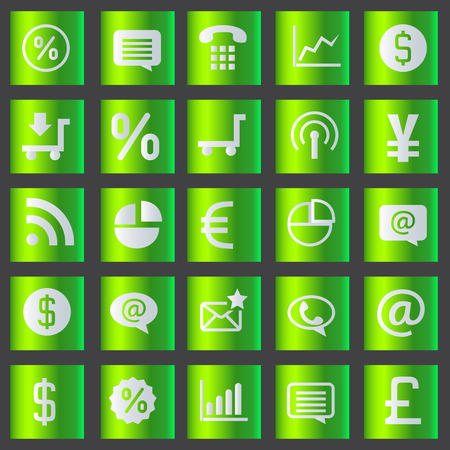 Icons set vector illustration Vector