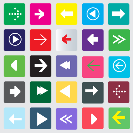 Arrow Icon set vector illustration Vector