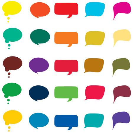 speech bubble: Speech bubble vector