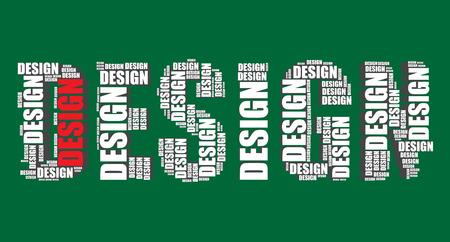 word art: dise�o de la tipograf�a 3d texto word art Vectores