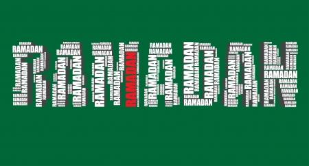 word art: ramadan tipograf�a 3d texto word art ilustraci�n nube de palabras ramadan