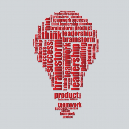 word art: success typography 3d text word art success vector illustration word cloud