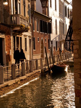Alley way, Venice, Italy photo