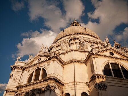 Basilica Santa Maria della Salute, Venice, Italy photo