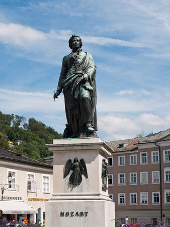 amadeus mozart: Wolfgang Amadeus Mozart, Salzburgo, Austria