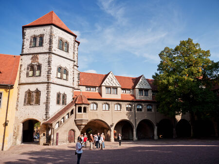 guided: Moritzburg, Halle, Germany