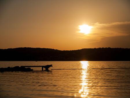 Sunset, Croatia