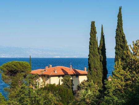 Villa with sea view, Croatia photo
