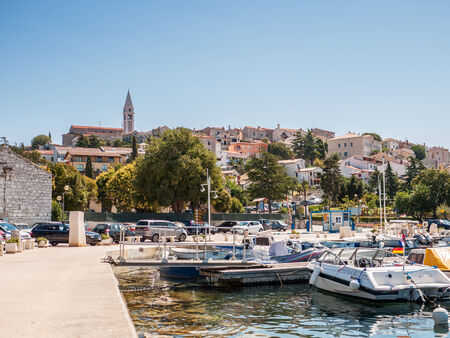 Port in Rovinj, Croatia
