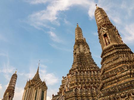 wat arun: Wat Arun, Bangkok, Thailand Stock Photo