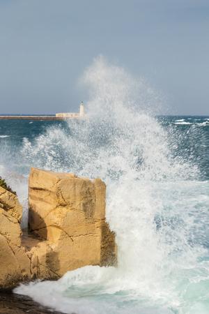 mare agitato: Mare agitato, Valletta, Malta