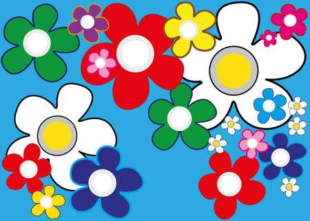 mural: Floral Mural Illustration