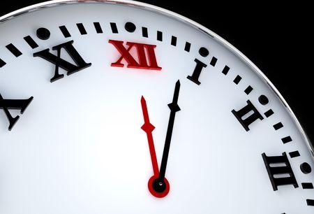 numeros romanos: Antiguo reloj con n�meros romanos