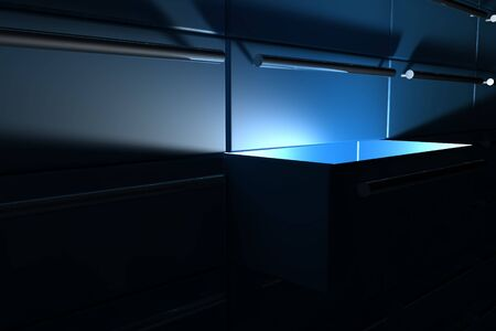Light shine on a opened drawer Stock Photo - 6662886