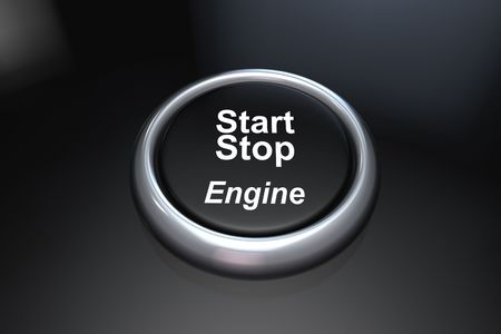 Start stop the engine in 3d photo