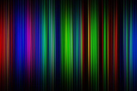 glaring: Digitally created abstract color lines background Stock Photo