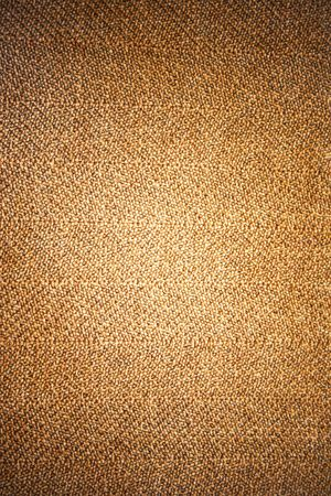 Photo of the texture of a brown fabric