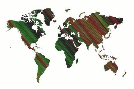 World map background to be used for business photo