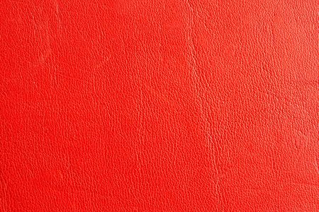 Red leather texture natural leather photo