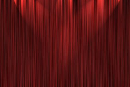 Red spot light for design backgrounds