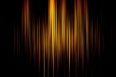 Żółty wiersze z czarnym tłem