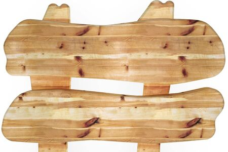 Wooden board isolated on white color Stock Photo - 6748014