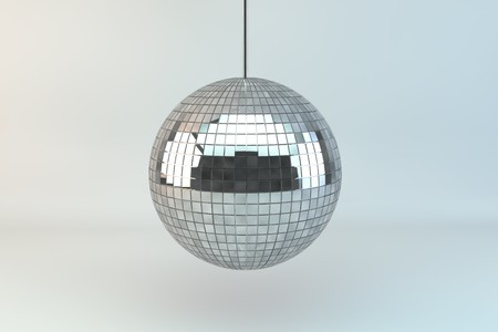 Three dimensional rendered Discoball
