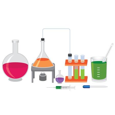 pipeta: Qu�mica experimentar con los fluidos y herramientas.