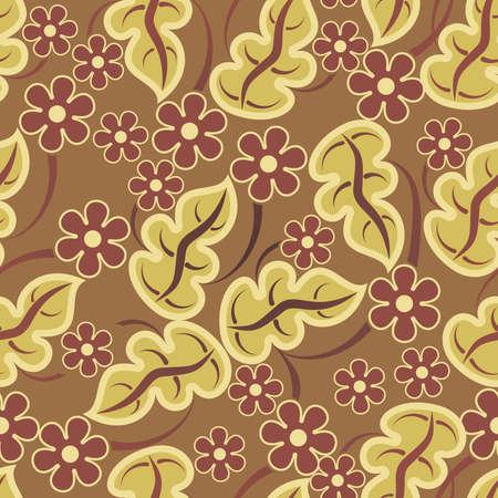 art painting: seamless pattern