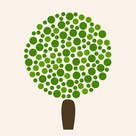 tree isolated: Tree. Tree icon. Eco tree. Ecology tree. Isolated tree icon on background. Green tree. Tree symbol. Summer tree. Forest tree. Nature tree. Big green ecology tree. Flat style vector illustration. Illustration