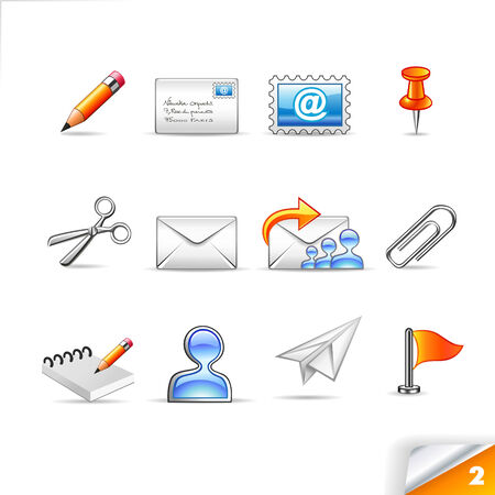 icon set 2  Mail