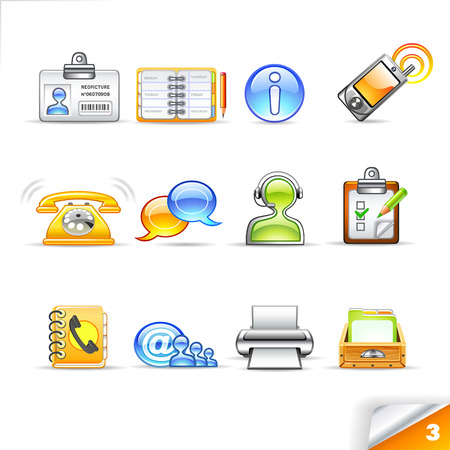icon set 3  Communication