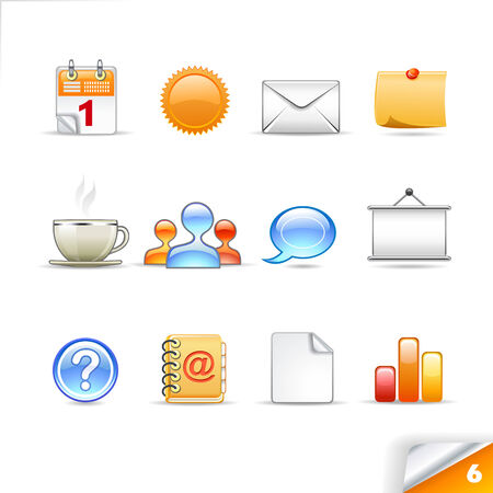 icon set 6  Office